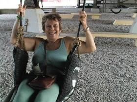 Julilly Kohler Testing the Swing