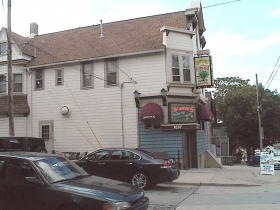 Scaffidi's Hideout sits at the northeast corner of E. Land Pl. and N. Humboldt Ave. three blocks north of the bustling Brady Street neighborhood. Photo by Michael Horne