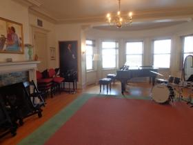 Practice room.