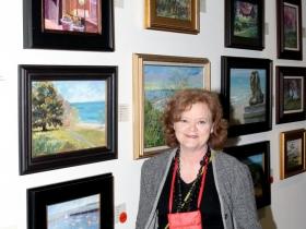 Artist Carolyn Larkin from Pewaukee, WI.