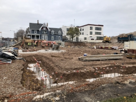 St. Rita Square Construction