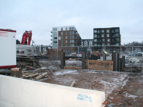The North End Phase IV Construction