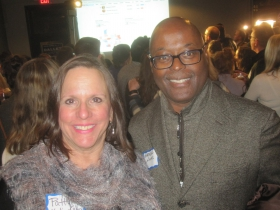 Patti Keating Kahn and Earnell Lucas