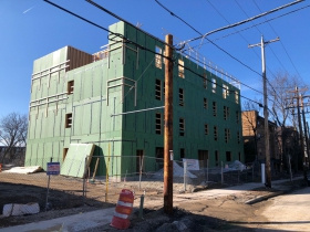 Cambridge North Apartments Construction
