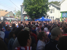 Pre-Game Crowd