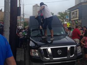 Climbing the Van