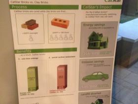 CalStar green bricks.