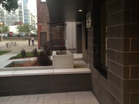 Front patio.