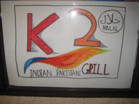 K2 Indian Pakistani Grill.