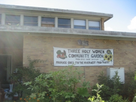 Three Holy Women Community Garden