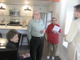 Louise Cardinal, Michael Barndt, JoAnne Barndt.