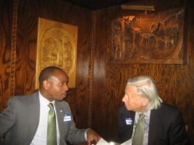 Cavalier Johnson and Chuck Kahn