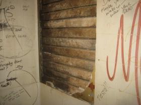 Bathroom wall at Jamo's