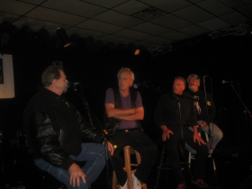 Terry Cullen, Bob Reitman, and Bob Cavallo [r]