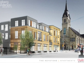 The Keystone Apartments Rendering