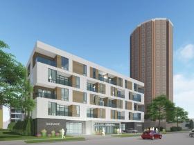 Franklin Arlington Apartments Rendering