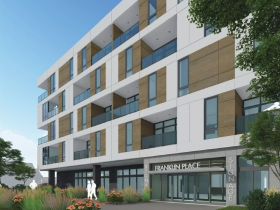 Franklin Arlington Apartments Rendering