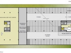 Franklin Arlington Apartments Floor Plan