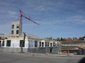 New construction on N. Water Street