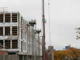 Construction of the second phase of The North End
