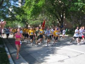Running Marines