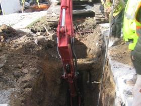 Excavation at Sage on Jackson.