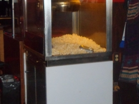Popcorn at the Y-Not II. Photo by Audrey Jean Posten.