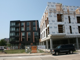Friday Photos: The North End Continues to Rise