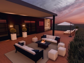 The 1540 Rooftop Deck