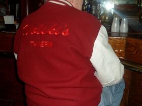 Wagners' jacket. Photo taken February 23rd, 2013 by Audrey Jean Posten.