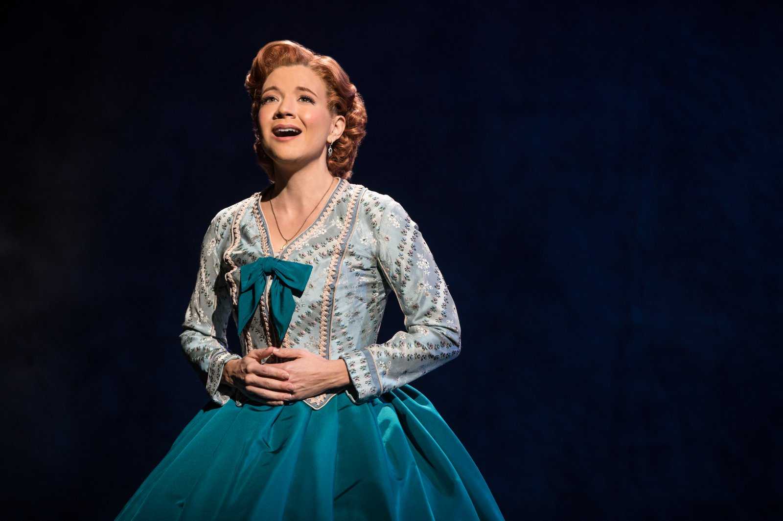 Angela Baumgardner as Anna Leonowens in Rodgers & Hammerstein\'s The King and