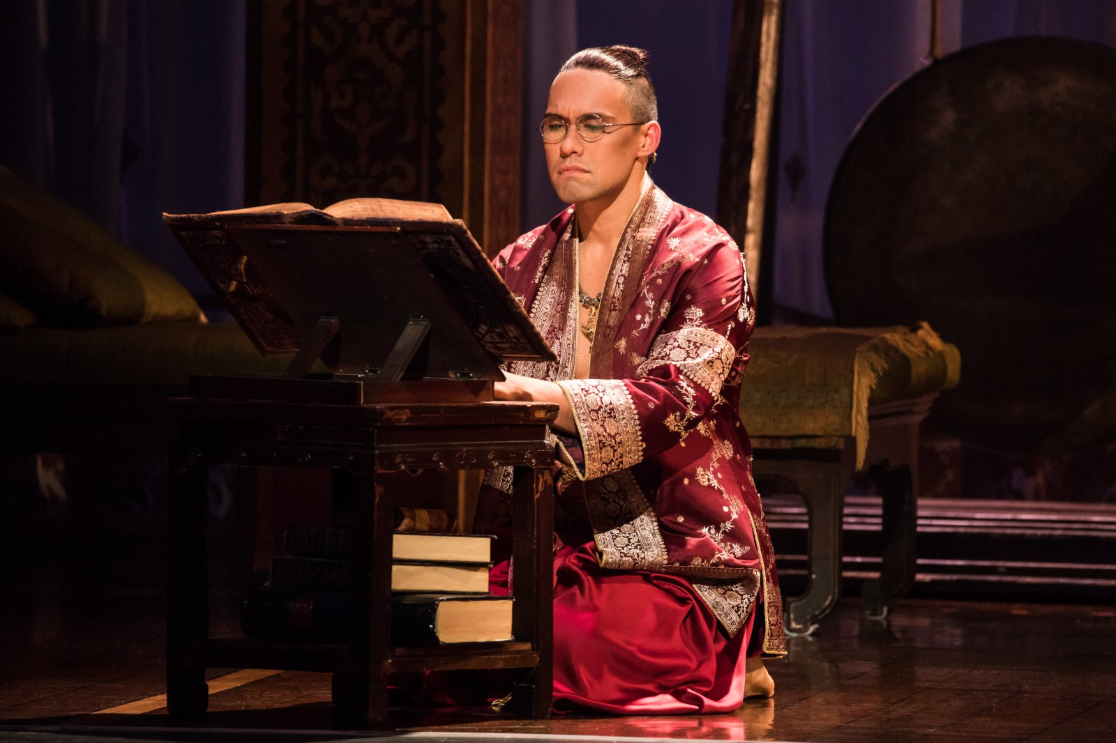 Pedro Ka\'awaloa as the King of Siam in Rodgers & Hammerstein\'s The King and I