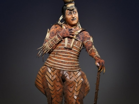 Patrick R. Brown as Scar in THE LION KING National Tour.