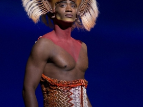 Jelani Remy as Simba from THE LION KING National Tour.