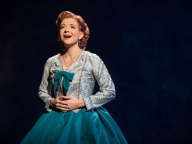 Angela Baumgardner as Anna Leonowens in Rodgers & Hammerstein's The King and