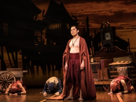 Bern Tan as the Kralahome in Rodgers & Hammerstein's The King and I
