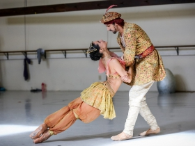 Marize Fumero and Davit Hovhannisyan