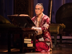 Pedro Ka'awaloa as the King of Siam in Rodgers & Hammerstein's The King and I