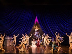 The company of Rodgers & Hammerstein's The King and I
