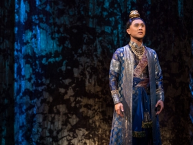 Timothy Matthew Flores as Prince Chulalongkorn in Rodgers & Hammerstein's The King and I
