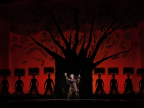 The Tree of Life from THE LION KING National Tour.