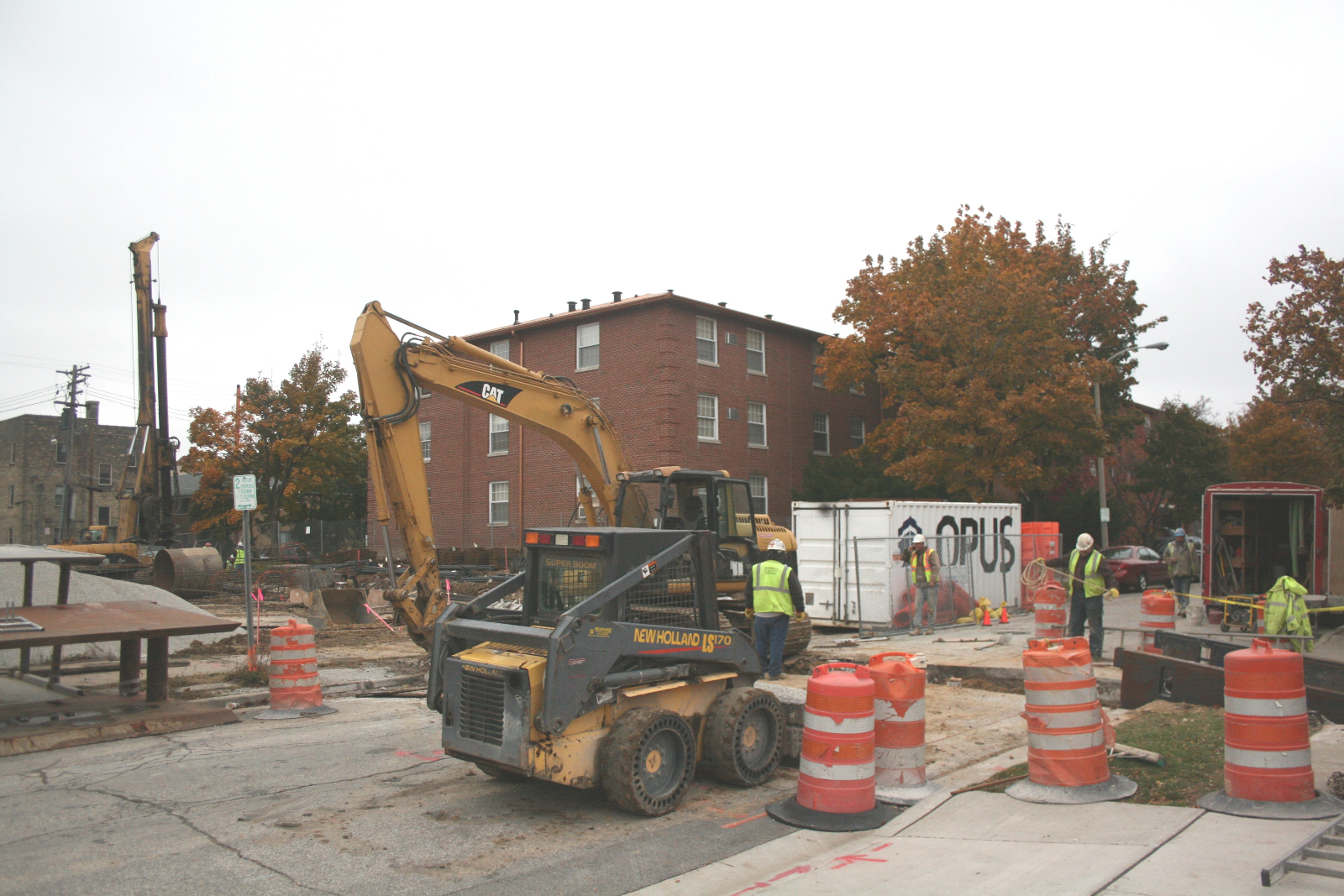 Construction has started on IVY on Fourteenth.
