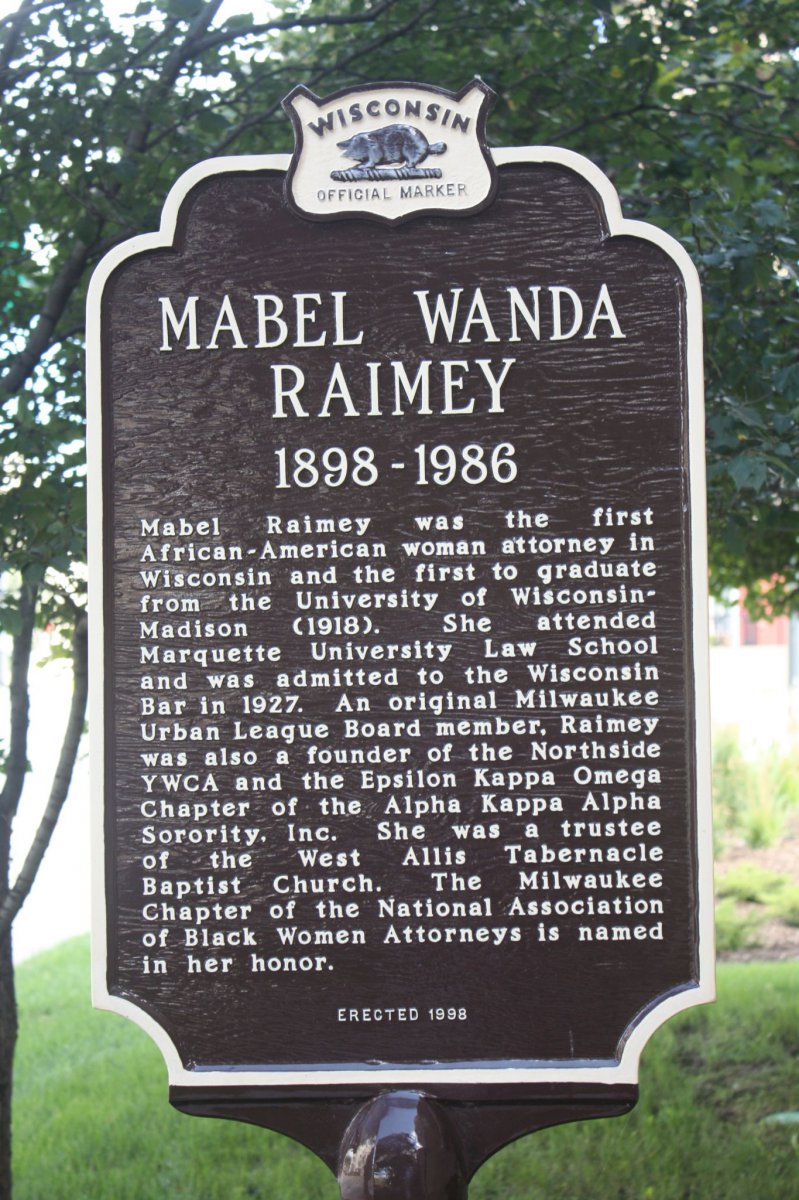 First African American woman attorney marker