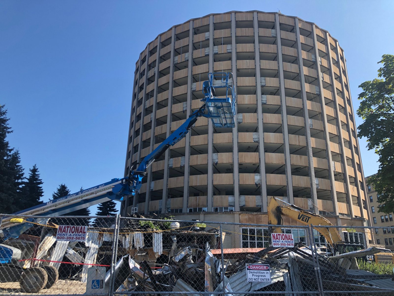 McCormick Hall Demolition