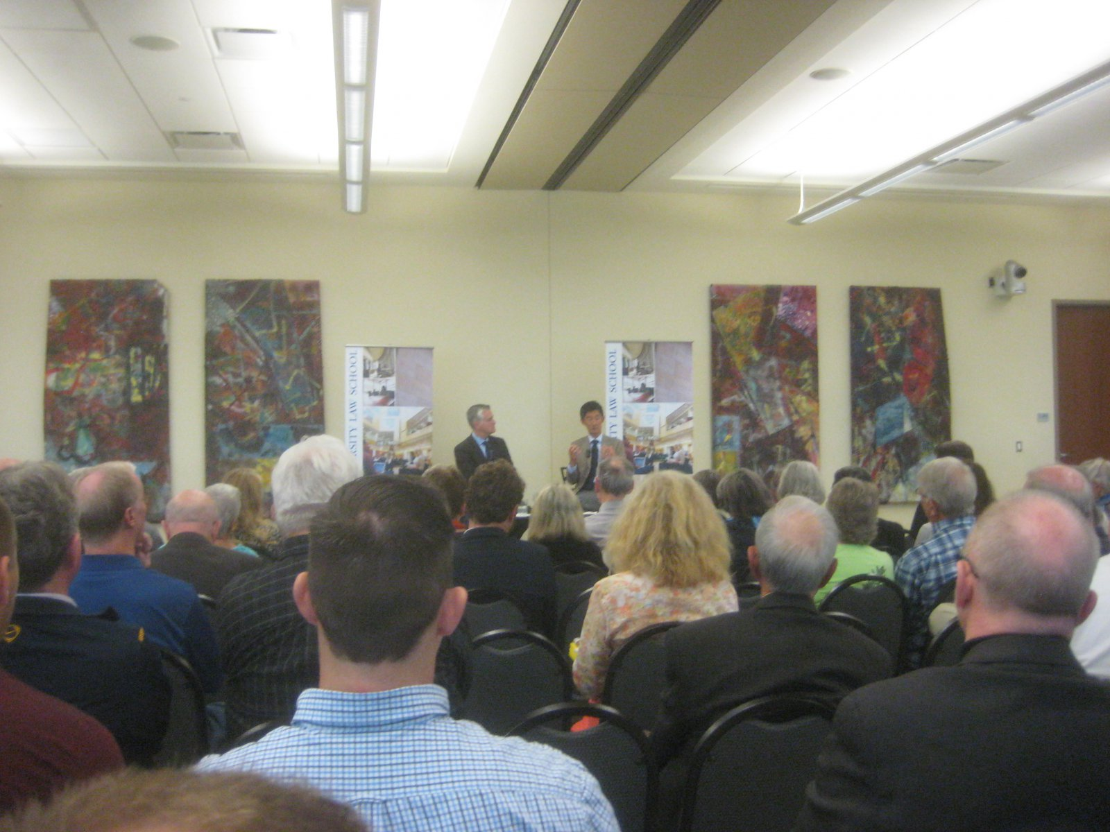 A capacity crowd came out to see Peter Park