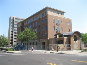 The new Jesuit Residence is nearing completion