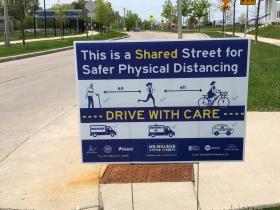 Shared Street Signage