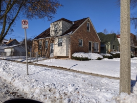 Home on Custer Ave.