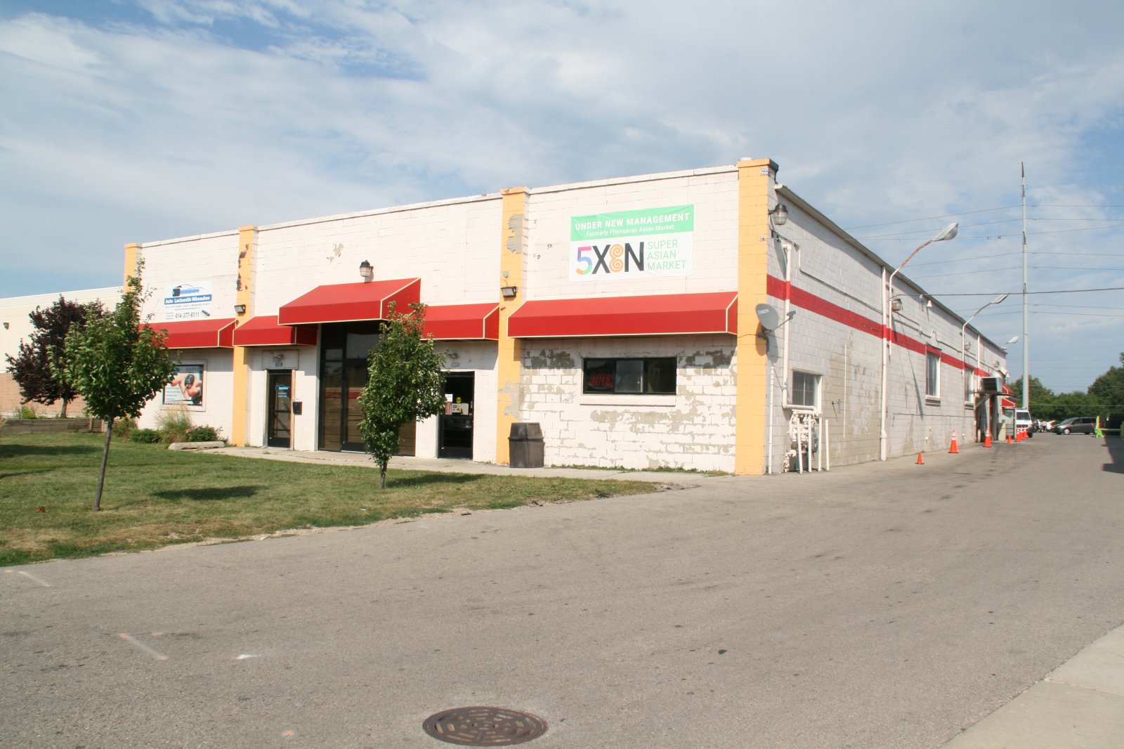 5XEN Super Asian Market - First Building