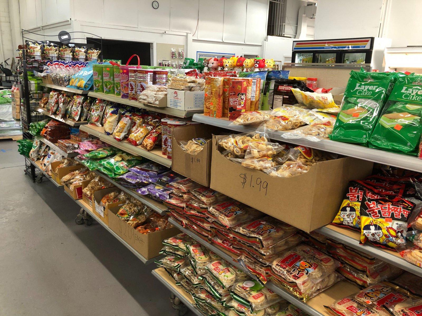 5XEN Super Asian Market Interior